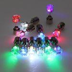 Šviečiantys LED auskarai pgr