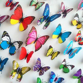 Dekoro drugeliai a