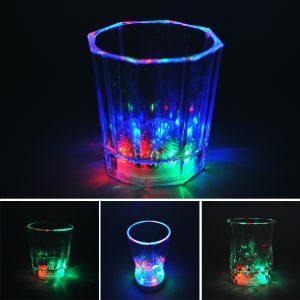 LED stiklinė