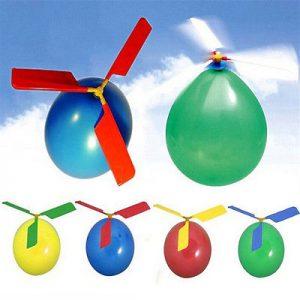 Žaidimas balionas-sraigtasparnis