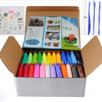 24 spalvų molis rankdarbiams1