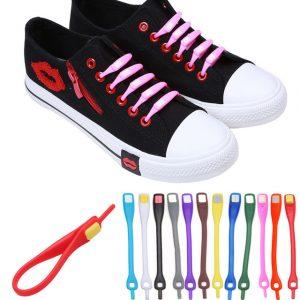 Silikoniniai batų segtukai
