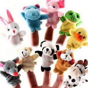 Žaisliukai ant pirštų