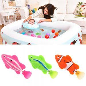 Žuvytės maudynėms vonioje