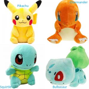 Pliušinis Pikachu ir kiti pokemonai