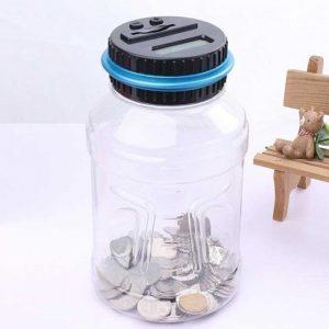 Skaitmeninė monetas skaičiuojanti taupyklė 4