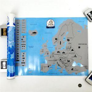 europos Nutrinamas žemėlapis