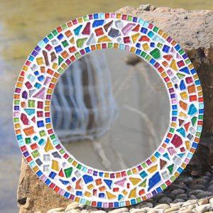 Spalvoto stiklo detalės mozaikai 6