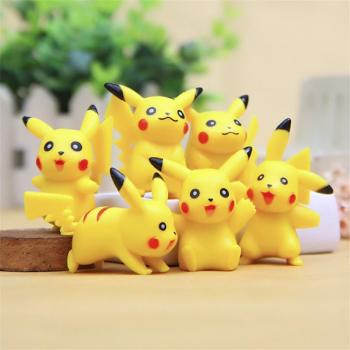 Pikachu figūrėlės 6vnt (3)